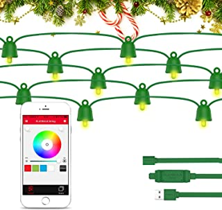 MIPOW Playbulb 33 Foot 10 Meter Waterproof Smart Led String Lights Color Changing Led Lighting Chains Control Via Smartpho...