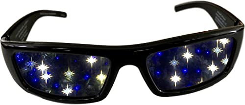 high quality Starry 3D Diffraction Glasses - Perfect for high quality Raves, Music popular Festivals, and More online sale