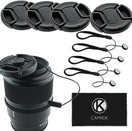 TAPA DELANTERA PARA OBJETIVO CANON 55 Front Lens Cap CANON  55 CON  CORDÓN