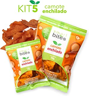 Smart Bites Chips de Camote Enchilado, 150 g, 5 Piezas