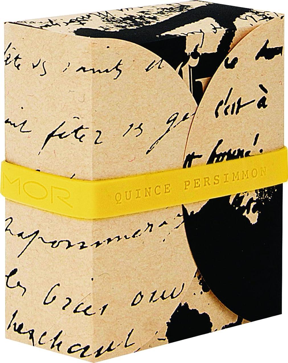 ダウンタウン強盗香水MOR(モア) コレスポンデンス トリプルミルドソープバー クインスパーシモン 180g