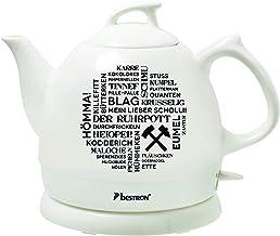 Bestron Wasserkocher im Retro Design, 0,8 Liter, Ca. 1800 Wa