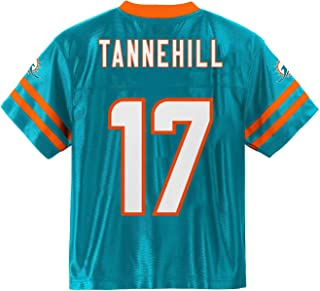 Outerstuff Ryan Tannehill Miami Dolphins #17 Aqua Toddler Home Player Jersey