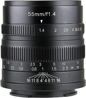 【国内正規品】七工匠 7artisans 5514FXB 55mm F1.4 フジフイルムX