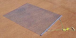 TACVPI Baseball Infield Drag Mat with 3ft x 4ft Galvanized Steel Mesh