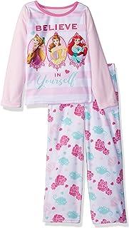225b75d5cf Disney Girls  Multi-Princess 2-Piece Fleece Pajama Set