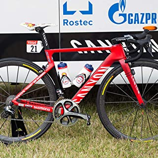 corki Bike Race Number Holder, Triathlon Number Plate and Tour de France Flag,Bike Number Mount for Team Sky and Cycling Racing