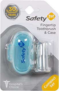 SAFETY 1ST Finger Tip Infant Toothbrush & Case
