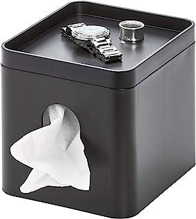 iDesign Cade Tissue Box Cover, Small Tissue Box Holder