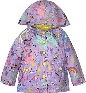 Best girls hooded raincoat Reviews