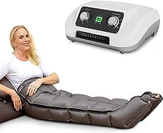 Venen Engel ® 6 aparato de masajes con pantalones, 6 cámaras de aire desactivables, tiempo y presión fáciles de configurar, masaje sin interrupciones