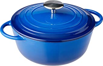 Pyrolux Cast Iron Casserole, Blue, 11781