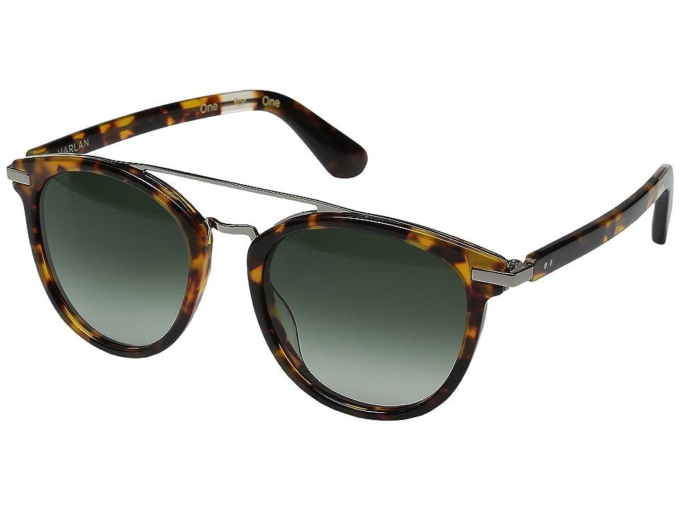 Retro Sunglasses | Vintage Glasses | New Vintage Eyeglasses TOMS Harlan Havana Tortoise Fashion Sunglasses $149.00 AT vintagedancer.com