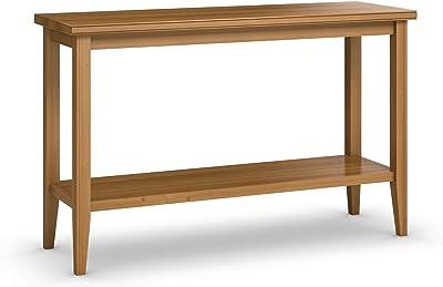 Amazon.com: Midtown Concept 2-shelf Console Table, Sand ...