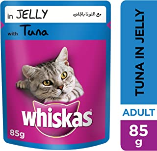 WHISKAS® Tuna in Jelly, Pouch, 85g x 24