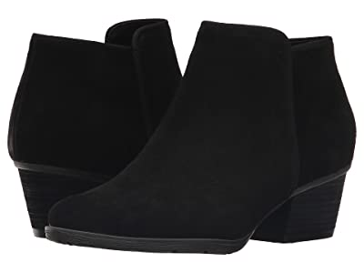 Blondo Villa Waterproof Bootie (Black Suede) Women