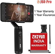 JSD PRO Zhiyun Smooth-Q2 (Official Dealer) 3-axis Smartphones Gimbal Stabilizer,POV Mode, 260g Payload, Zhiyun-Smooth-Q2-phone-gimbal-stabilizer