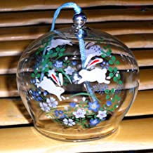 Wind Bell Japanese Wind Chimes Handmade Glass Wind Chimes-Jumping Rabbit