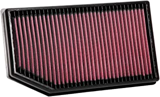 K&N Engine Air Filter: High Performance, Premium, Washable, Replacement Filter: 2018-2020 JEEP (Grand Cherokee, Grand Cherokee IV), 33-5077