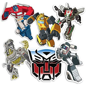 SmileMakers Transformers Patient Stickers 100 Per Pack SmileMakers Inc