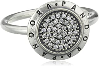 Pandora Women's Sterling Silver Cubic Zirconia Ring - Size US 6-6.5 US