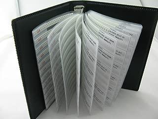 0201 SMD SMT Chip Inductor Assortment Book Kit 38 values x100pcs,total 3800pcs,5%