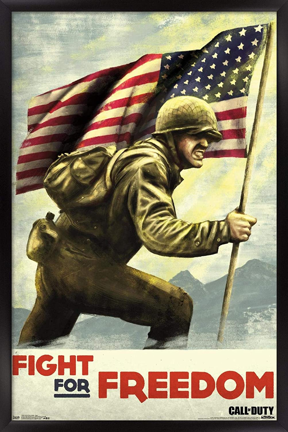 Trends International Chicago Mall Call of Duty: WWII 14. Wall - shopping Poster Fight