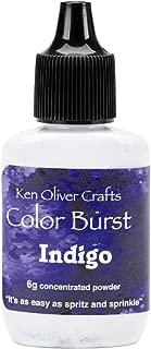 Color Burst Concentrated Microfine Pigment Powder - Indigo