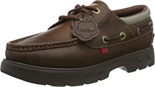 Kickers Lennon Boatshoe Pull Up, Chaussures Bateau Mixte