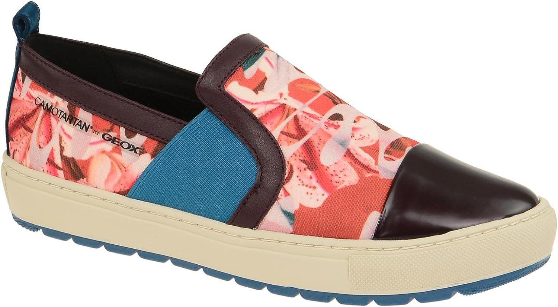 Geox Damenschuhe - sportliche Slipper - Halbschuhe BREEDA - CAMOTARTAN CAMOTARTAN Designed by YOUNG BAE SEOK  kreative Produkte