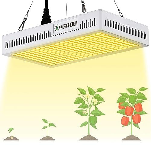 White Led Grow Lights: White LED Grow Light: Amazon.com