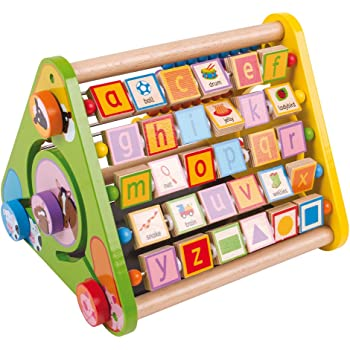 Bigjigs Toys Early Learning Triangular Activity Centre
