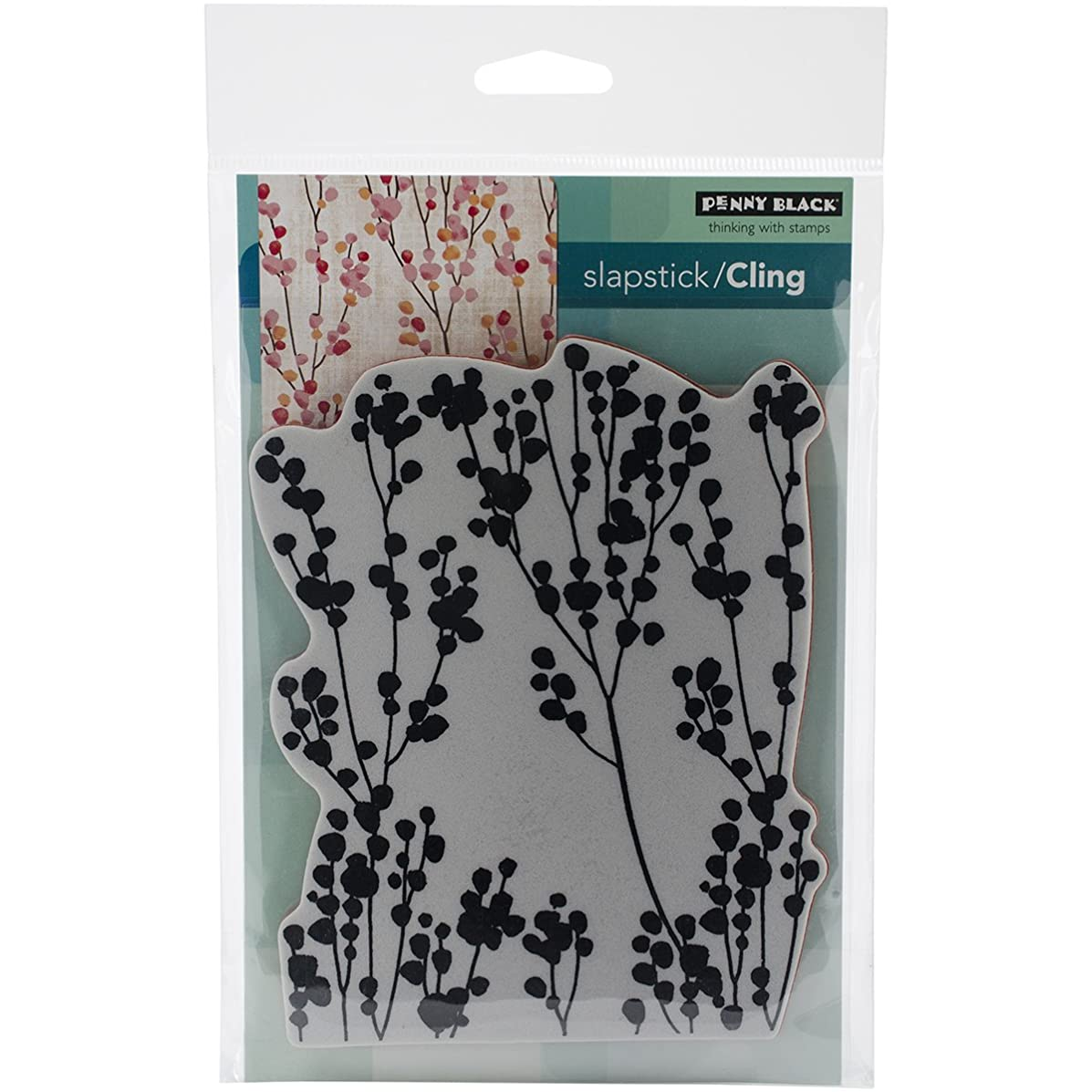 Penny Black 40-342 Decorative Rubber Stamps, Happy Berries