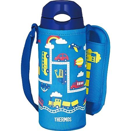 サーモス 水筒 真空断熱ストローボトル 400ml ブルーネイビー 保冷専用 FHL-402F BL-N