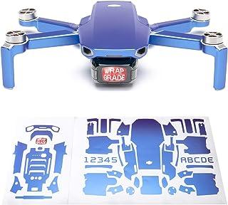 Wrapgrade Skin sticker set kompatibel med DJI Mini 2 (CELESTE BLUE)