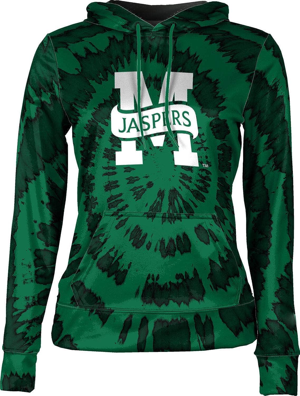Manhattan College Girls' Pullover Hoodie, School Spirit Sweatshirt (Tie Dye)