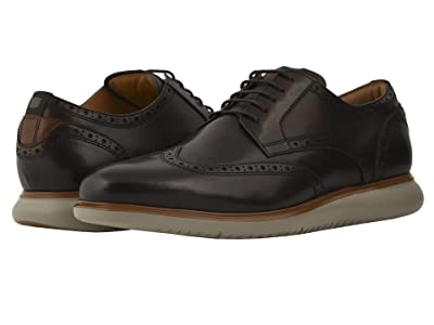 Florsheim Fuel Wing Tip Oxford (Brown/Grey Sole) Men