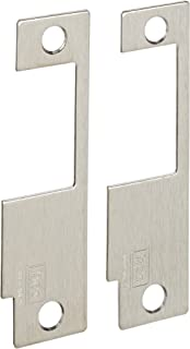 HES Stainless Steel 852M Faceplate for 8500 Series Electric Strikes for Variety of Mortise Locksets, Satin Stainless Steel Finish