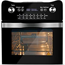 14.7-Quarts Air Fryer Toaster Oven, BOWUTTD 16-in-1 1800-Watt Toaster Oven Cooker, All in One Countertop Oven for Air Fryi...