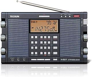 EnergyPower 短波ラジオ TECSUN H-501 [日本語説明書付] LSB/USB 同期検波&SSB トリプルコンバージョン FM/LW/MW/SW ステレオスピーカー PLLシンセサイザーワールドバンドレシーバー プロフェッショ...
