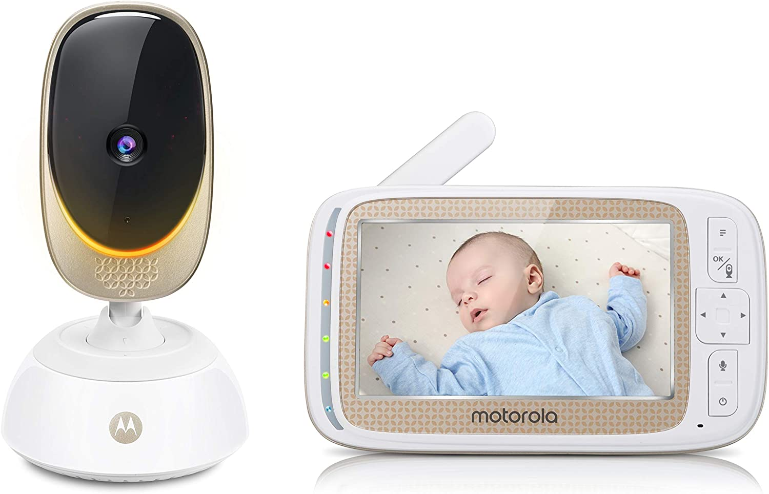Motorola Baby COMFORT85 Connect Video Baby & Home Monitor with 5