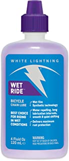 White Lightning Wet Ride Extreme Conditions Heavy Bicycle Chain Lube