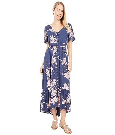 Roxy Bright Daylight Dress (Mood Indigo Vertigo) Women
