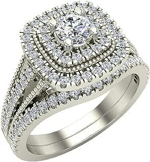 Best 18 carat gold wedding ring set Reviews
