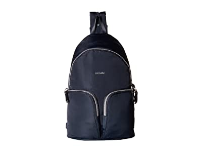 Pacsafe Stylesafe Anti-Theft Convertible Sling to Backpack (Navy) Backpack Bags