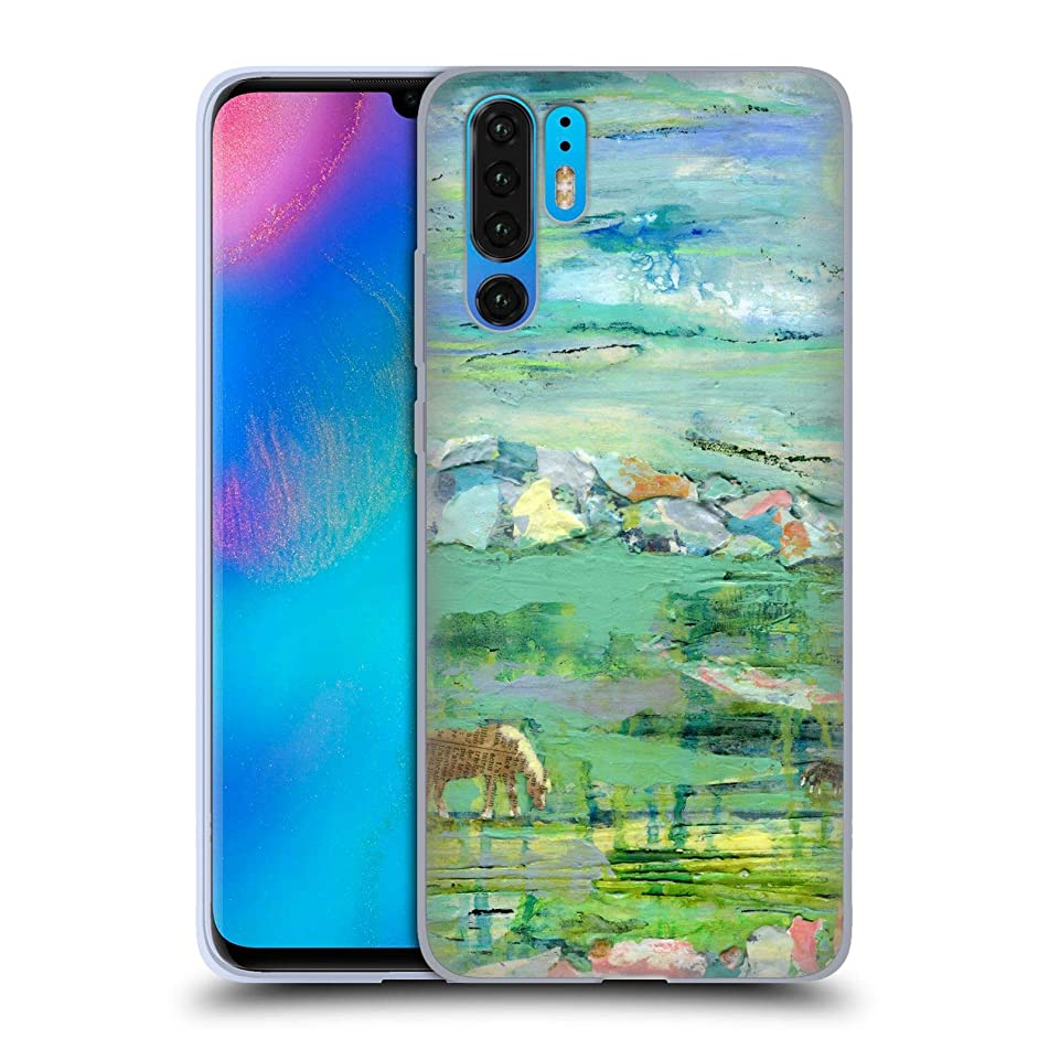 Official Wyanne Andre and Roscoe Abstract Soft Gel Case Compatible for Huawei P30 Pro