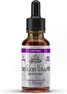 Oregon Grape Tincture, Organic Oregon Grape Extract (Mahonia aquifolium) Dried Root Herbal Supplement, Non-GMO in Cold-Pre...