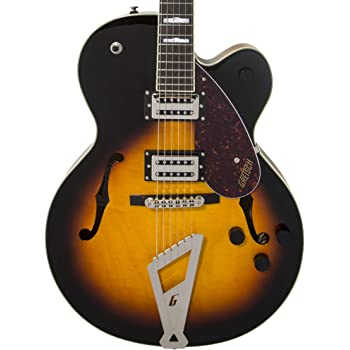 Gretsch Streamliner Hollow Body Aged Brooklyn Burst w/V-Stoptail & Broad'Tron Pickups