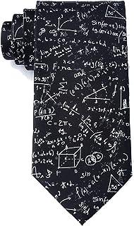 Men's 100% Microfiber Math Equations Novelty Tie Necktie