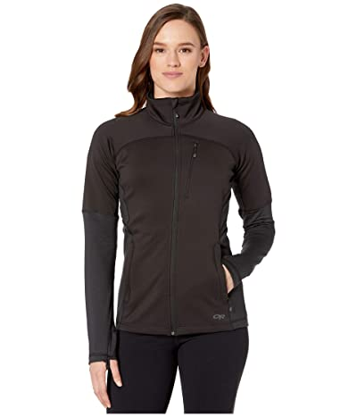 Outdoor Research Vigor Full Zip (Black) Women